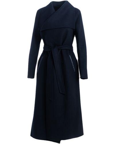 Czarny płaszcz Mackage