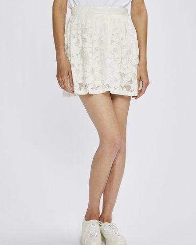 Белая юбка мини Answear