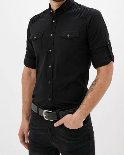 Рубашка с длинным рукавом черная Young & Rich