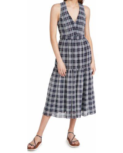 Текстильное клубное платье с декольте Club Monaco