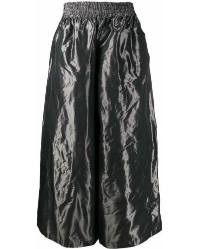 Расклешенные свободные брюки на резинке Palomo Spain