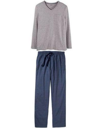 Пижама со штанами - серая Livergy