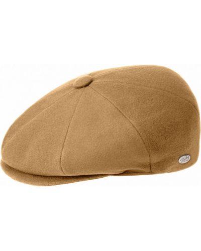 Бежевая кепка итальянская Bailey