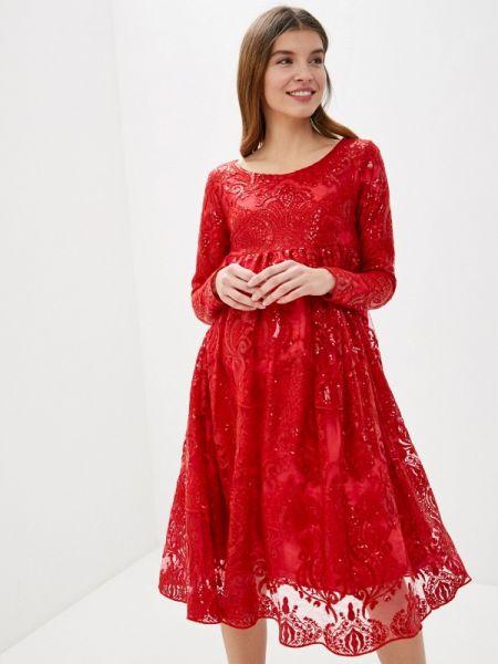Красное платье Olesya Zubova