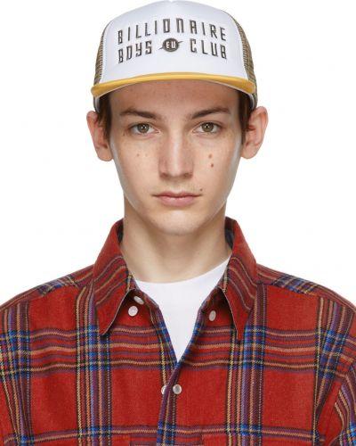 Biały kapelusz z siateczką Billionaire Boys Club