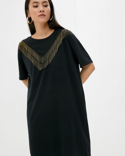 Черное турецкое платье Allsaints