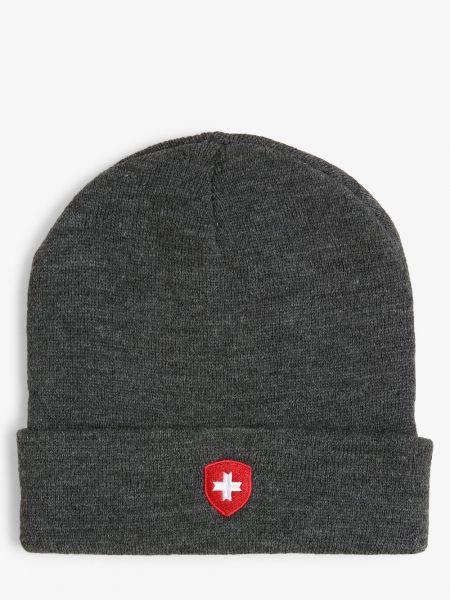 Szary czapka baseballowa Wellensteyn