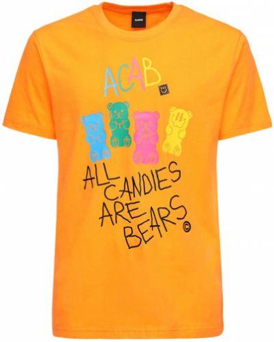 Pomarańczowy t-shirt Taboo