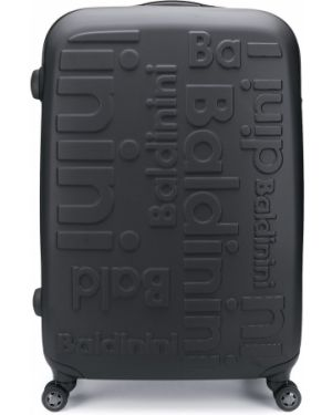 Черный чемодан круглый Baldinini