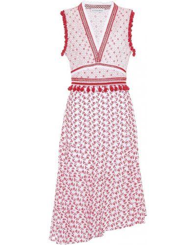 Платье миди в рубчик Altuzarra