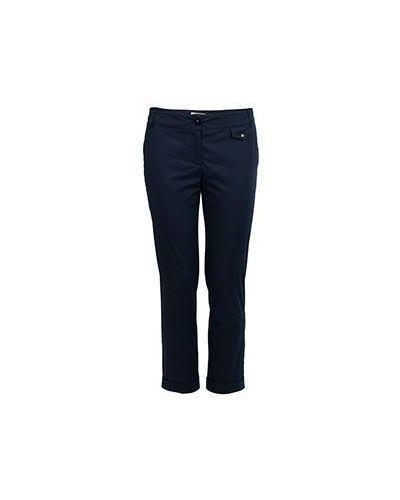 Летние брюки стрейч с отворотами дудочки Patrizia Pepe