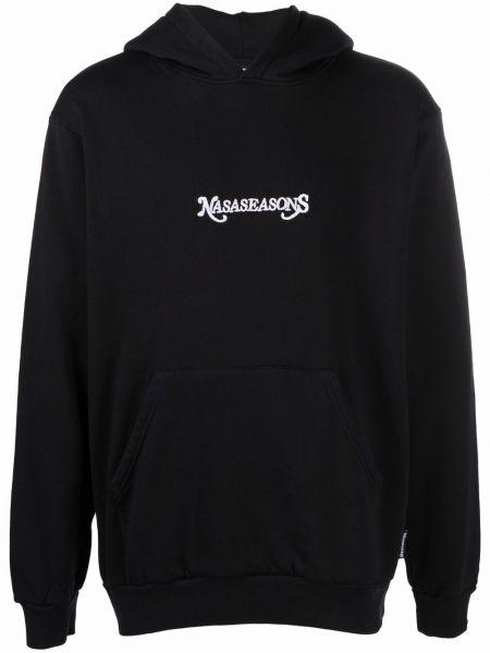 Czarna klasyczna bluza Nasaseasons