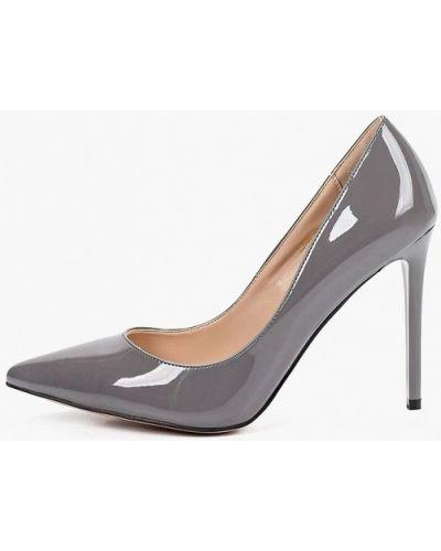 Кожаные туфли - серые Teetspace