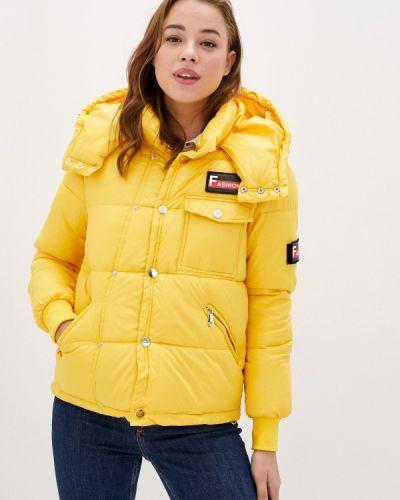 Утепленная желтая куртка Fadjo