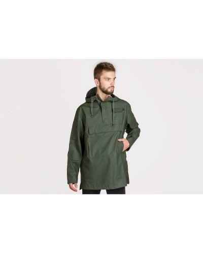 Zielona kurtka z kapturem Rains