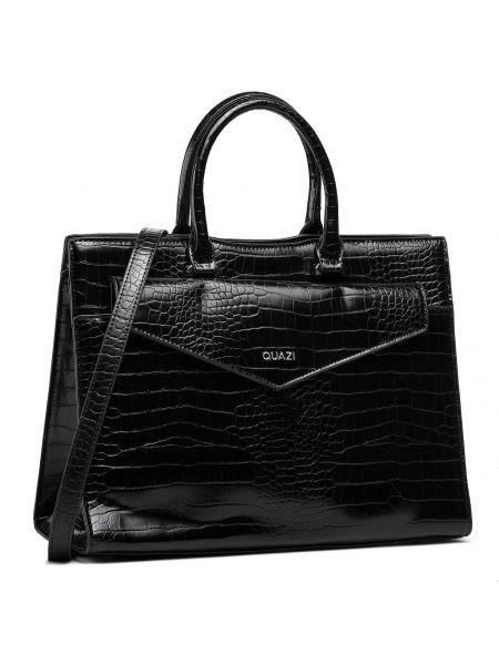Czarna torba na ramię Quazi