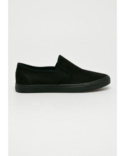 Черные ботинки Answear