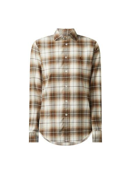 Bawełna bawełna brązowy bluzka z długimi rękawami Polo Ralph Lauren