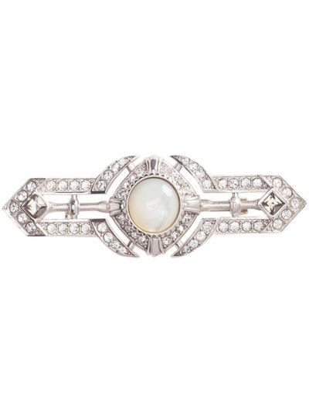 Серебряная брошь Dolce & Gabbana