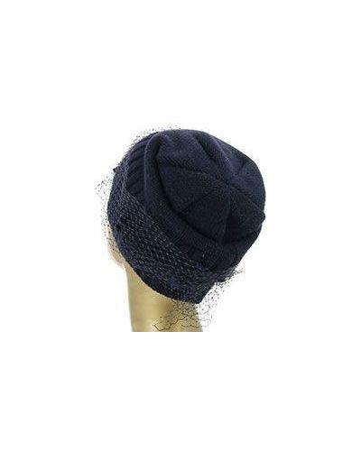Зимняя шапка шерстяная синий Alter Ego