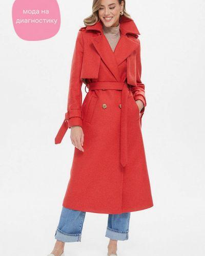 Пальто - красное Gk Moscow