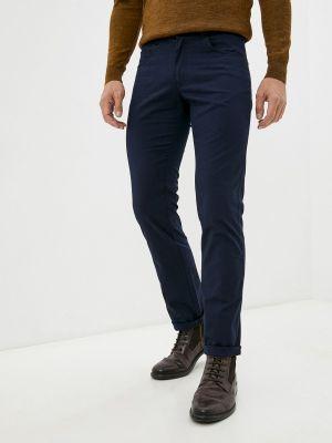 Зауженные брюки - синие Galvanni