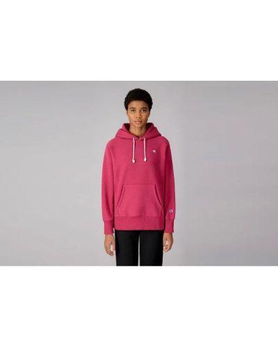 Bluza kangurka - różowa Champion