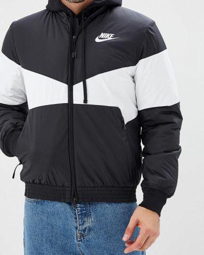 Утепленная куртка демисезонная осенняя Nike