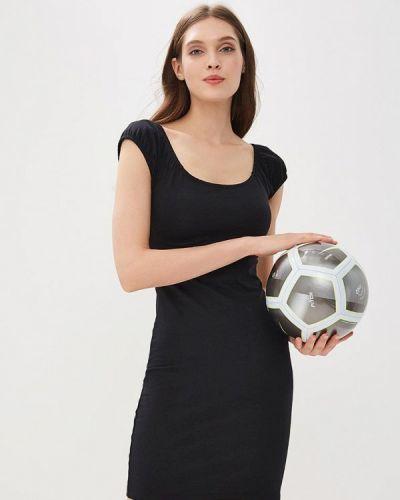 Черное платье с открытыми плечами Ovs