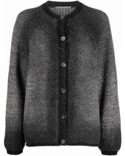 Серая шерстяная кофта Alberta Ferretti