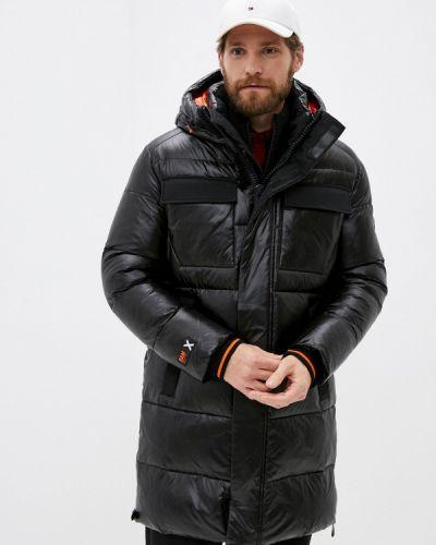Черная утепленная куртка Winterra