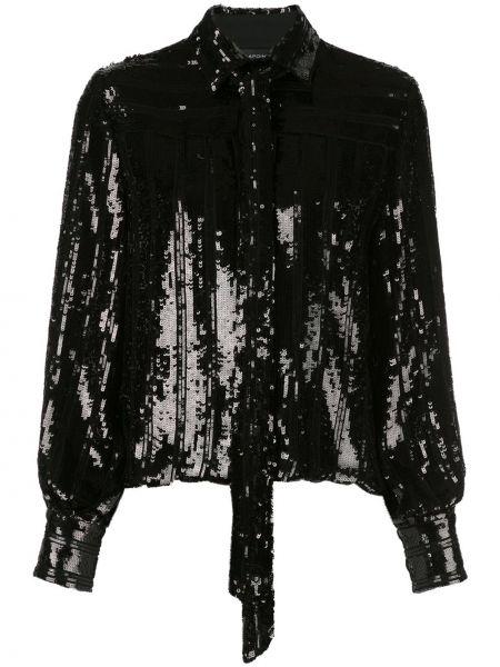 Свободная классическая блузка с длинным рукавом Sally Lapointe