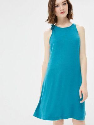 Платье бирюзовый платье-майка Gap
