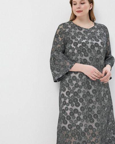 Платье весеннее серое Aelite