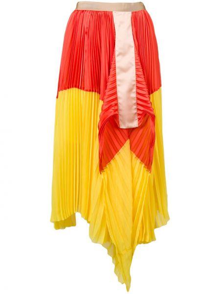 Spódnica plisowana tutu lato Sacai