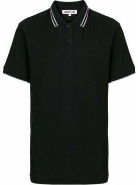 Koszula krótki rękaw - czarna Mcq Alexander Mcqueen