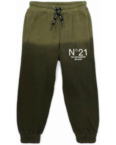 Zielone spodnie N°21