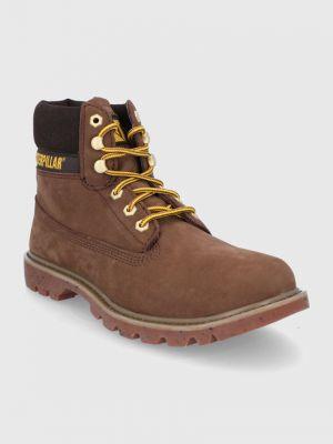 Замшевые ботинки Caterpillar