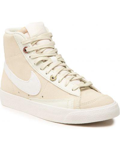 Marynarka zamszowa - biała Nike
