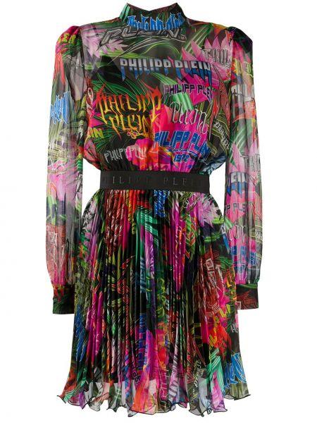 Платье с рукавами с вырезом Philipp Plein