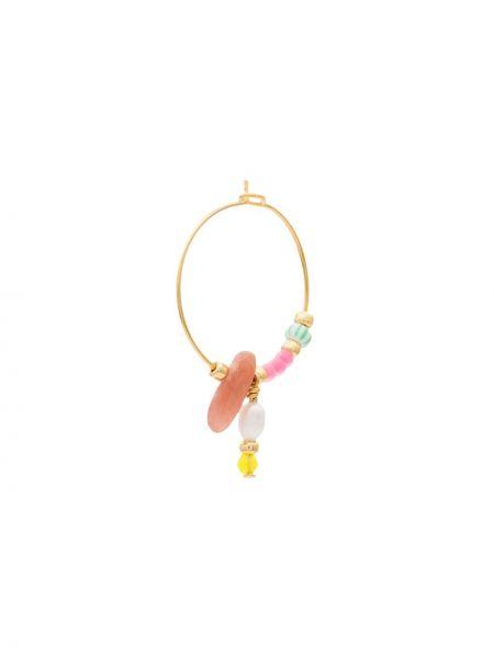 Серьги-кольца с бисером Anni Lu