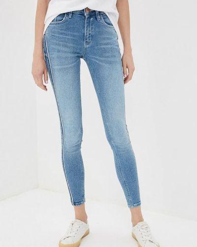 Голубые джинсы-скинни River Island