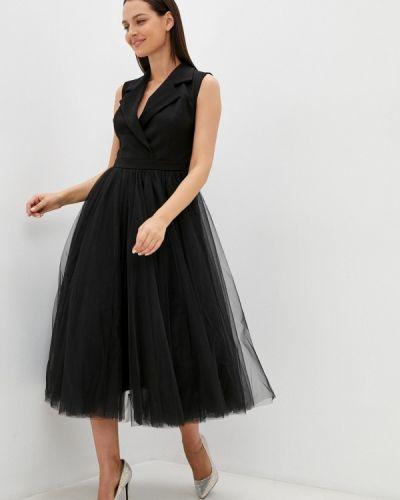 Платье с запахом - черное M,a,k You Are Beautiful