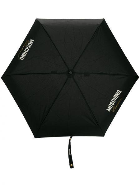 Parasol z nadrukiem włoski Moschino