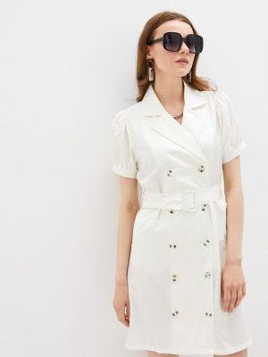 Бежевое платье Defacto