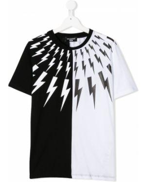 Черная футболка Neil Barrett