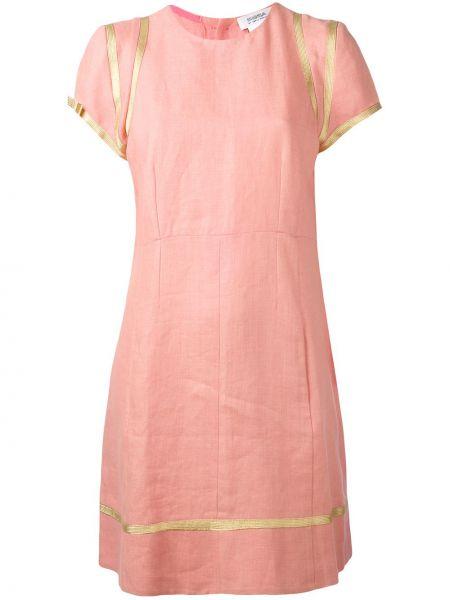 Льняное платье винтажное Sonia Rykiel Pre-owned