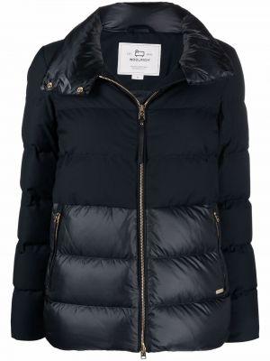 Стеганая куртка - синяя Woolrich