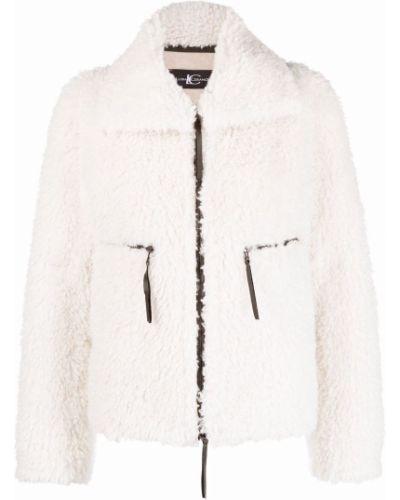 Длинная куртка - белая Luisa Cerano