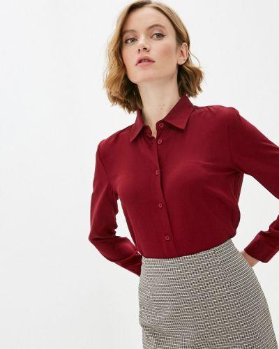 Базовая с рукавами красная блузка Base Forms